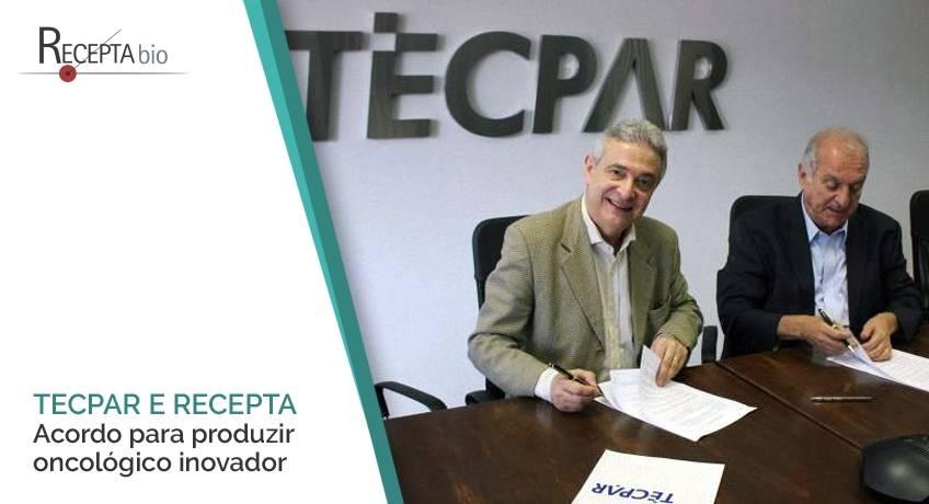 Tecpar e Recepta Biopharma firmam acordo para produzir oncológico inovador.