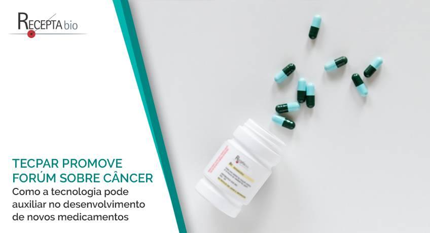Tecpar promove fórum sobre tratamento do câncer.