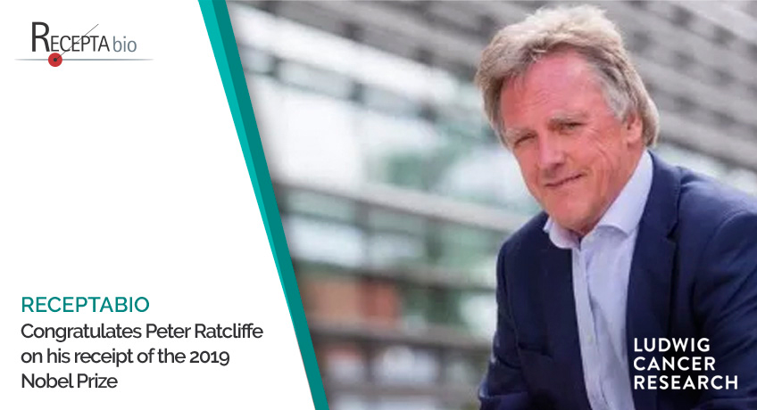 ReceptaBio congratulates Peter Ratcliffe on his receipt of the 2019 Nobel Prize.